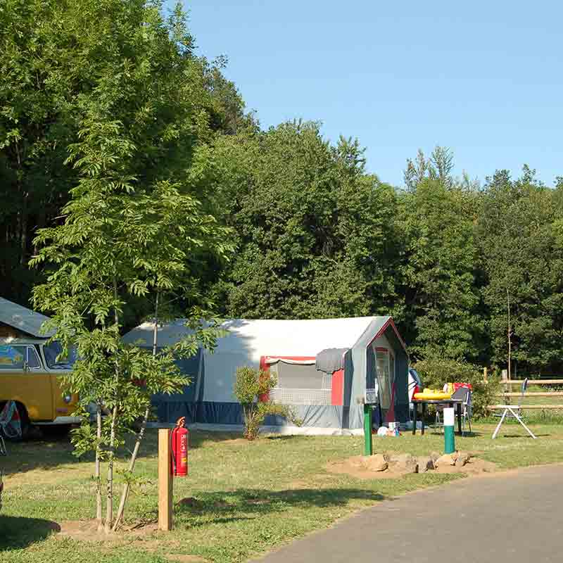 emplacement camping puy de dome
